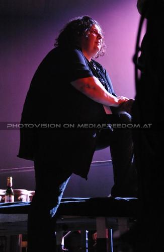 Lady in black - backstage: Martina Pokorny