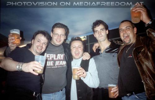Here i am: Norbert Ivanek,Walter Brix,Charly Swoboda,Freddy Brix,Wolfgang Steffan