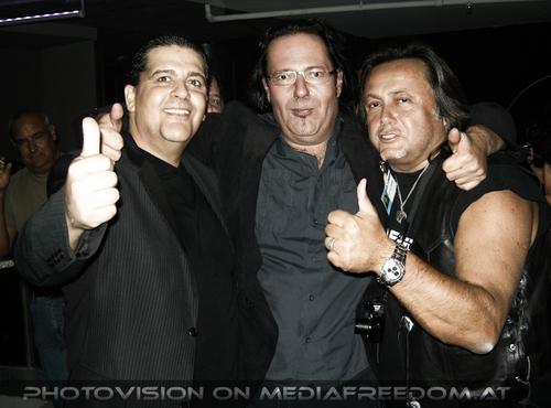 Music Party Pix 57: Tony Wegas,Muff Sopper,Charly Swoboda