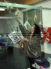 Unkonventionelle Art den Juke Box Stand aufzubauen (Martina Pokorny)