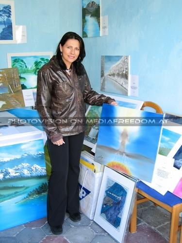 Happy Painters day 03: Brigitte Egretzberger
