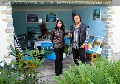 Happy Painters day 06: Brigitte Egretzberger,Charly Swoboda