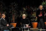 Nach der Verleihung (Alexander Horwath, Hubert Christian Erhalt, Michael Haneke)
