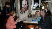Im Gespräch (Christa Kern, Erika Conrads, Manfred Loydolt, Thomas Macek)