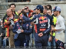 Showrun Pix 33 (Daniel Ricciardo, Pierre Gasly)