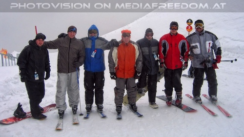 Schi foan 05: Nenad,Martin E.,Christian L.,Charly Swoboda