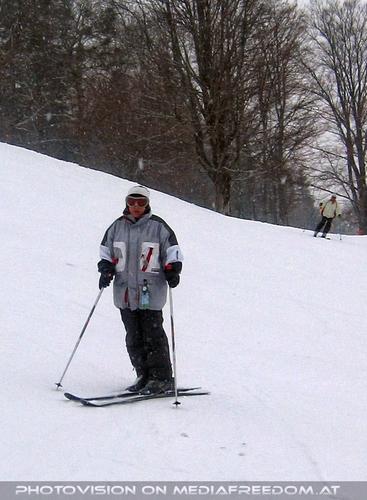 Tapfer bei Schnee und Wind: Gabriele P.