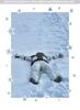 Eva D. ruht im Schnee