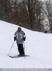 Tapfer bei Schnee und Wind