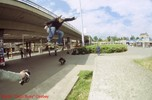 Roman Back Side 180 Ollie over a gap