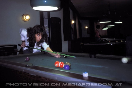Billiard Queen: Andrea Necas