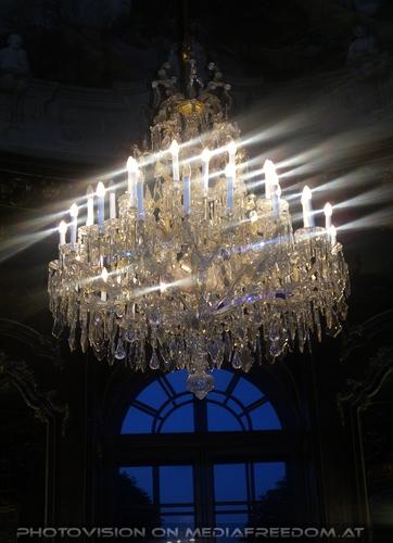 Der Prachtluster im Kaiser Pavillon