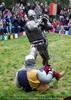 Ritter besiegt Ritterin