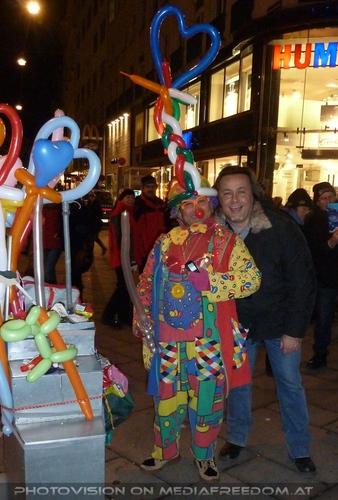 Balloon Clowns: Charly Swoboda