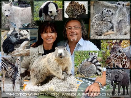 Für den Artenschutz: Eva D., Charly Swoboda